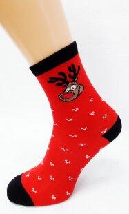 Bláznivé dámske ponožky Rudolf