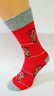 Bláznivé pánske ponožky Rudolf