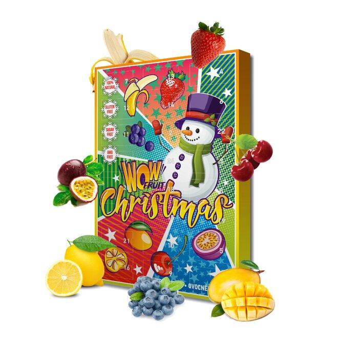 250 g Zdravý adventný kalendár s ovocnými tyčinkami (Wow Fruit)