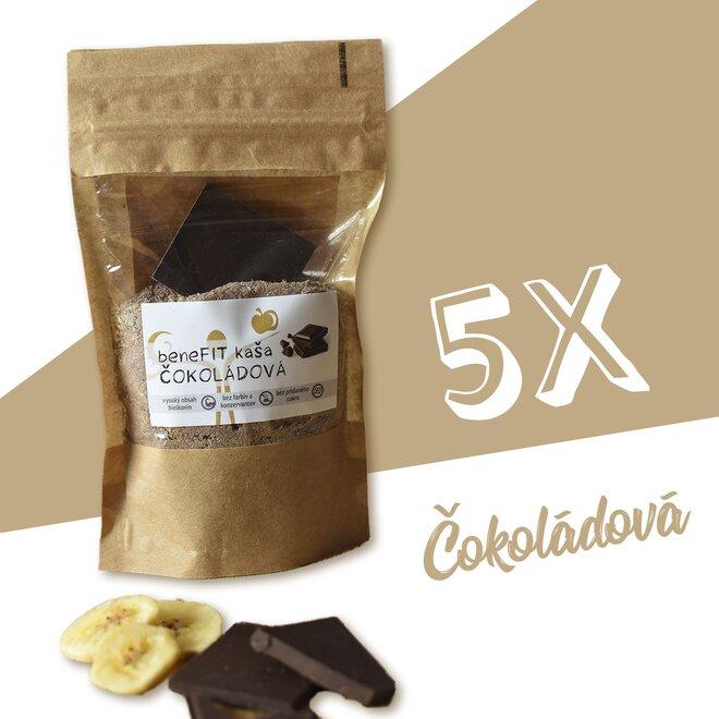 5 x 90 g BeneFIT kaša (čokoládová)