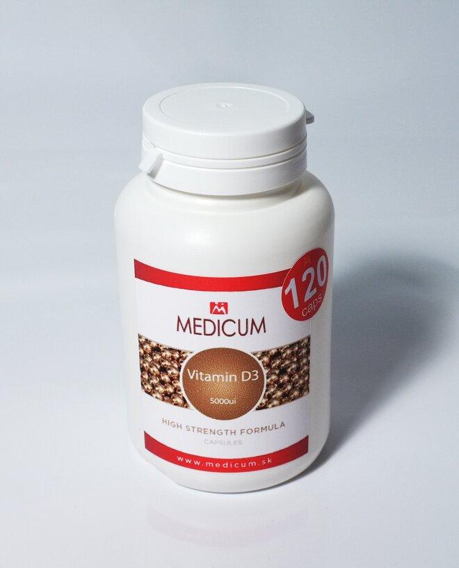 1 x 120 tabliet Vitamín D3 5000iu