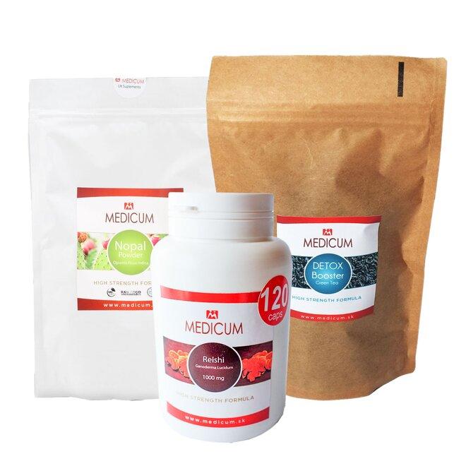 3-dielny Balíček doplnkov na imunitu