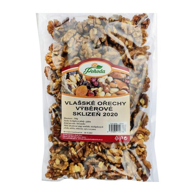 500 g Jadrá vlašských orechov výberové