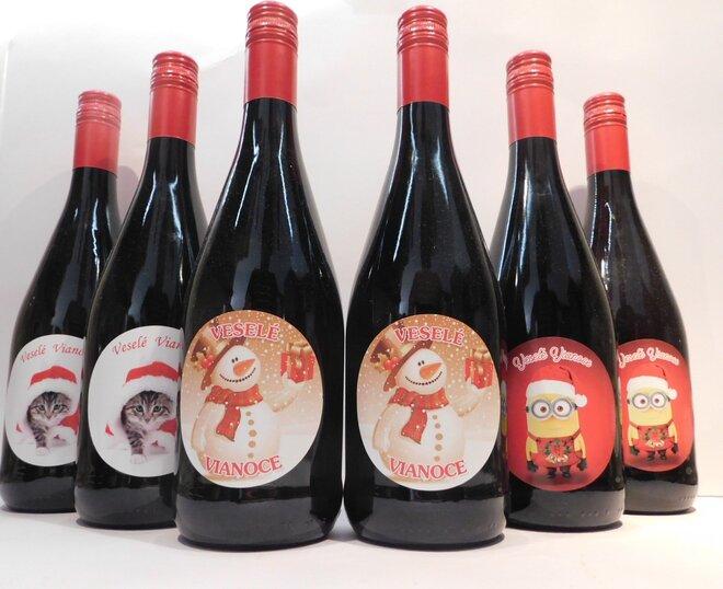 6 x 0,75 l Ríbezľové víno s vianočnou etiketou