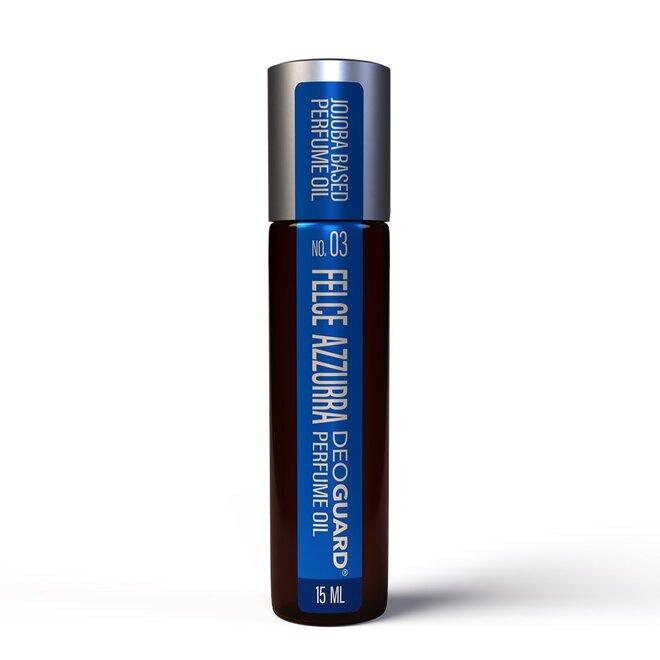 15 ml Parfumovaný prírodný olej Deoguard (vôňa: Felce Azzurra)