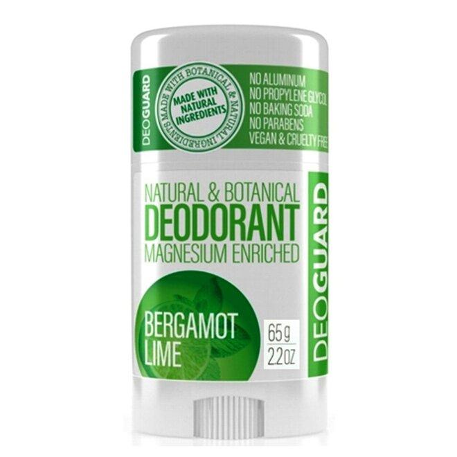 65 g Tuhý prírodný dezodorant s magnéziom (bergamot a limetka)