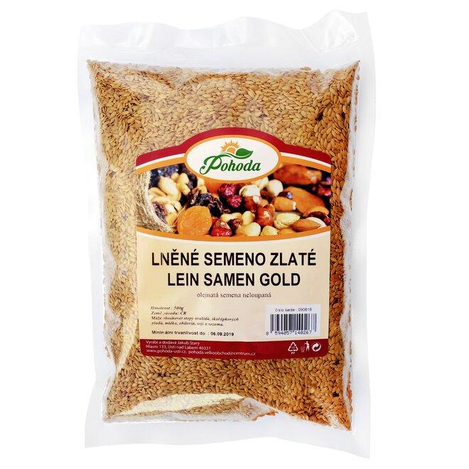 500 g Ľanové semienko (zlaté)