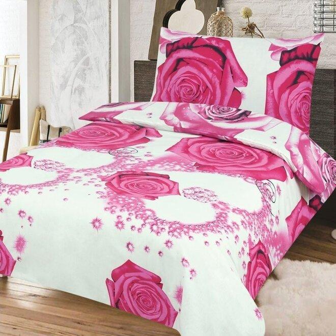 Krepové obliečky ROSE (100% bavlna)