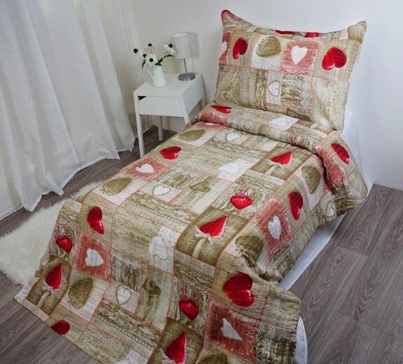 Krepové obliečky PETRA (bavlna/polyester)