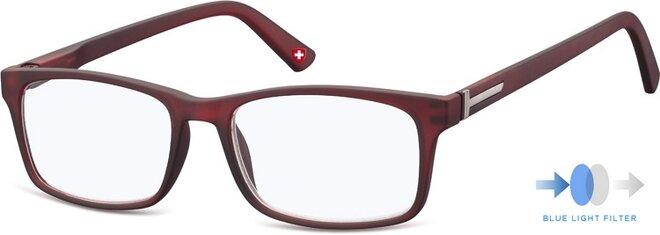 Okuliare na počítač BLF73 +2,0