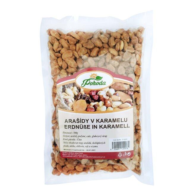 500 g Arašidy v karameli