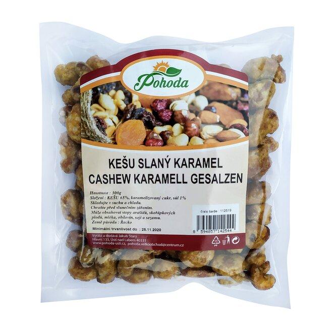300 g Kešu - slaný karamel