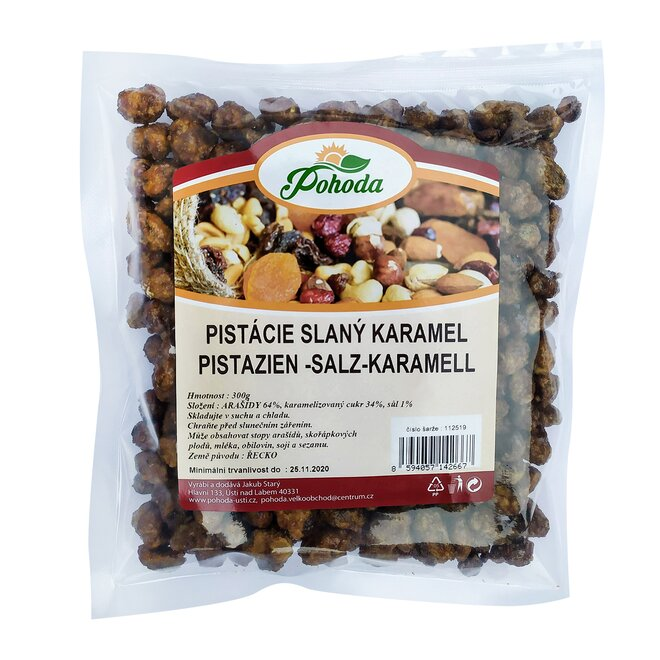 300 g Pistácie - slaný karamel