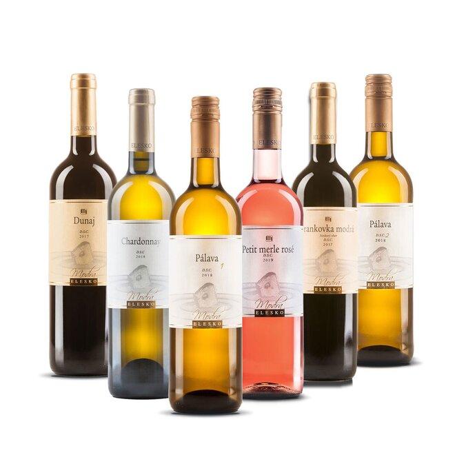 6-dielny MIX Balíček vín od ELESKO