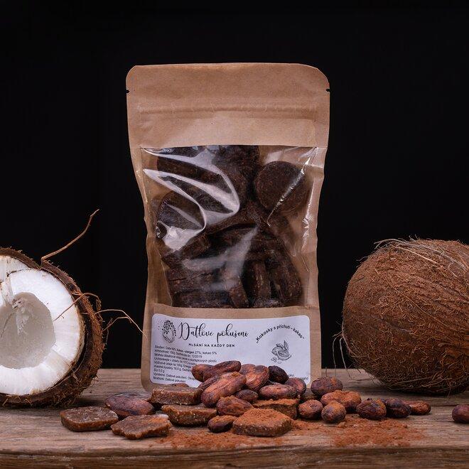 100 g Datlové bonbóny (kakao)