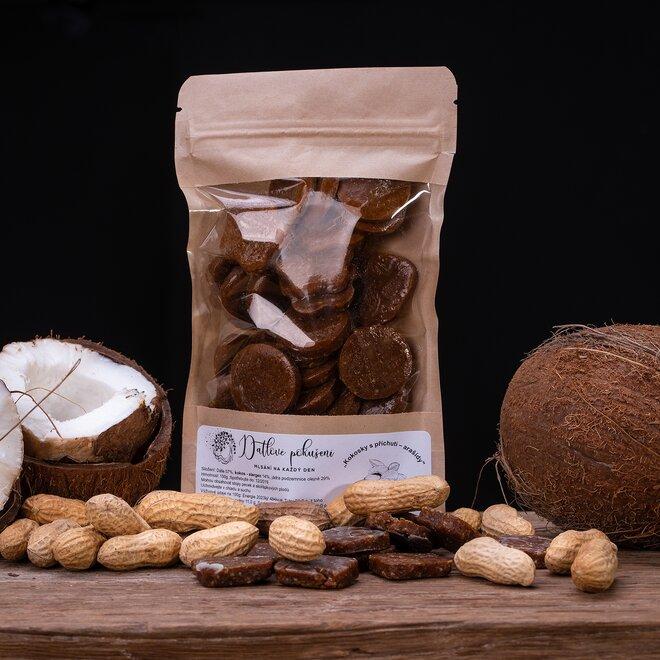100 g Datlové bonbóny (arašidy)