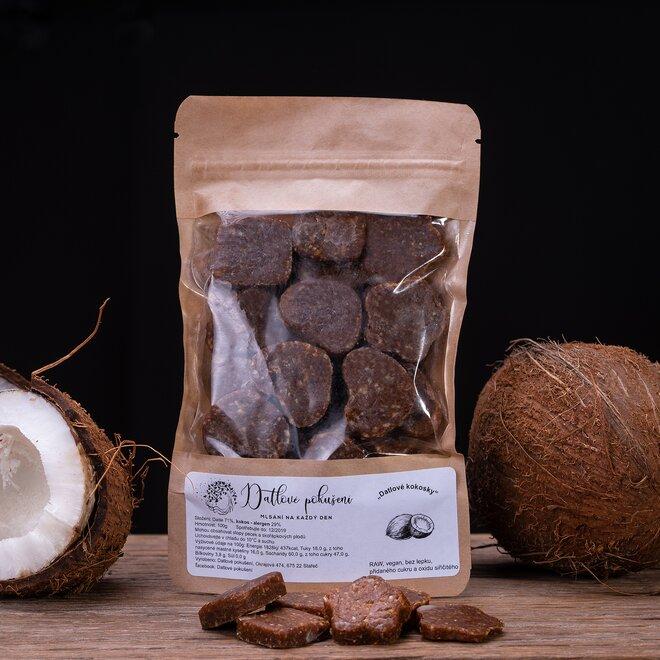 100 g Datlové bonbóny (kokos)