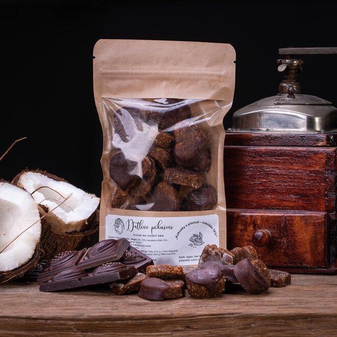 100 g Datlové bonbóny (čokoláda)