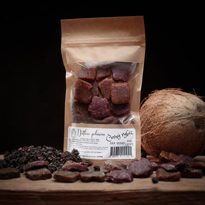 100 g Datlové bonbóny (čierna ríbezla)