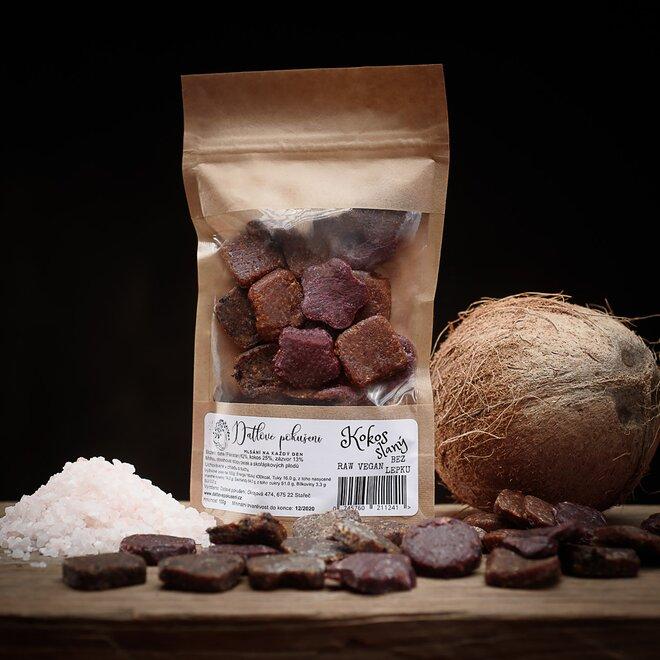 100 g Datlové bonbóny (slaný orech)