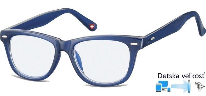 Detské okuliare na počítač KBLF1 modrá