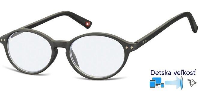 Detské okuliare na počítač KBLF2 čierna