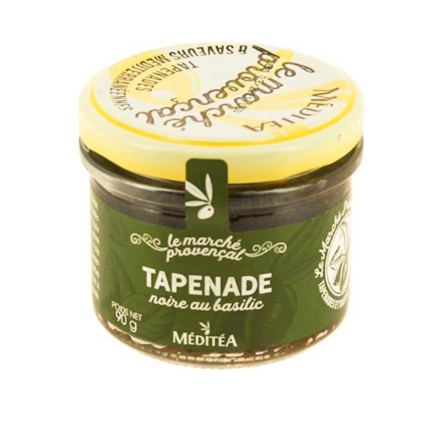 90 g Francúzska tapenáda (čierne olivy s bazalkou)