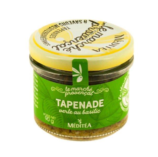 90 g Francúzska tapenáda (zelené olivy s bazalkou)