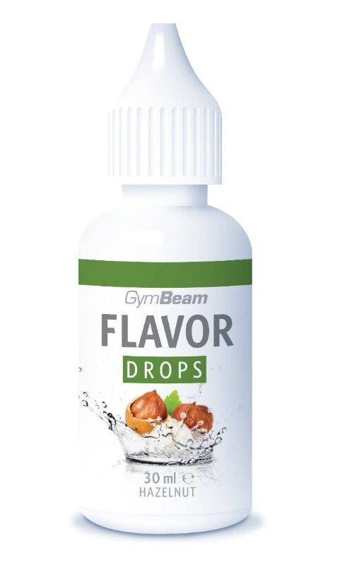 30 ml Flavor Drops od GymBeam (lieskový orech)