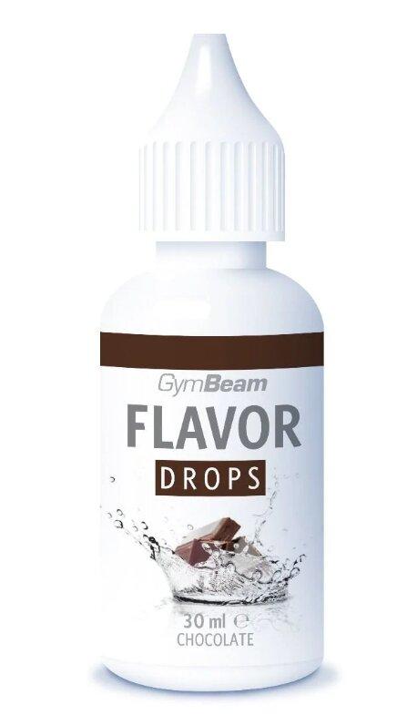 30 ml Flavor Drops od GymBeam (čokoláda)