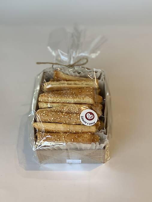 250 g Špaldové slané tyčinky so sezamom slovenskej výroby