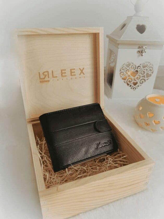 Pánska peňaženka v darčekovej krabičke S13