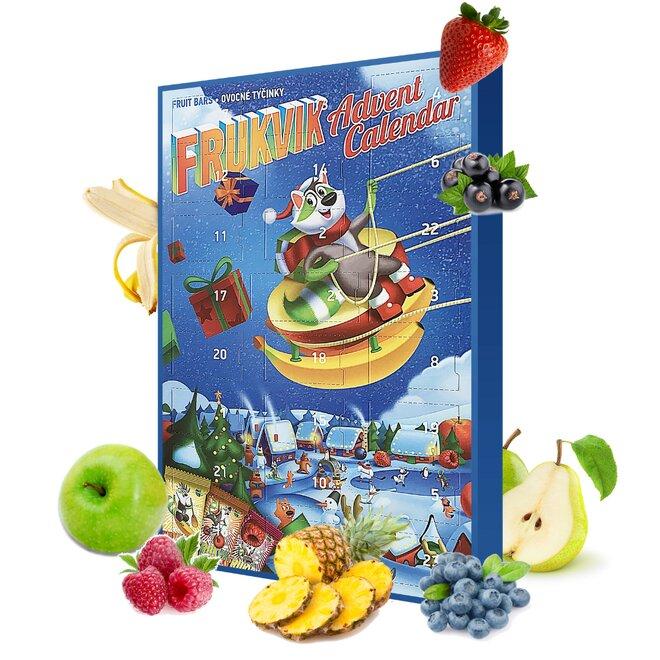 250 g Zdravý adventný kalendár s ovocnými tyčinkami 2020 (Frukvik)