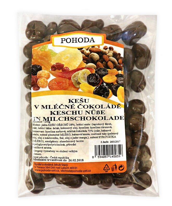 250 g Kešu v mliečnej čokoláde