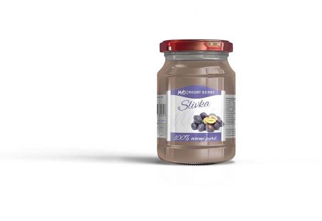 200 g Ovocné pyré so slivkou (100 %)