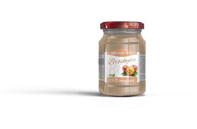 200 g BIO 100 % ovocné pyré s broskyňou