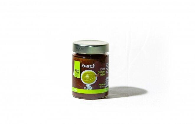 200 g Ovocný džem PREMIUM 100 % (egrešový)