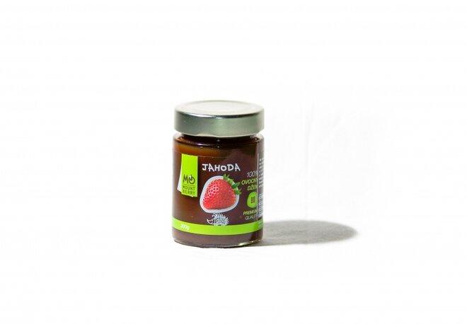 200 g BIO 100 % ovocný džem PREMIUM (jahodový)