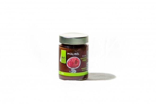 200 g Ovocný džem PREMIUM 100 % (malinový)