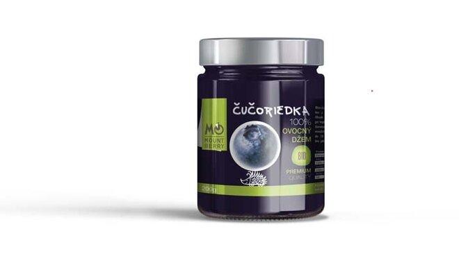 200 g BIO 100 % ovocný džem PREMIUM (čučoriedkový)