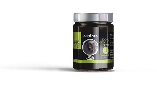 200 g BIO 100 % ovocný džem PREMIUM (aróniový)