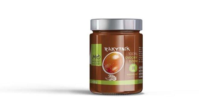 200 g BIO 100 % ovocný džem PREMIUM (rakytníkový)
