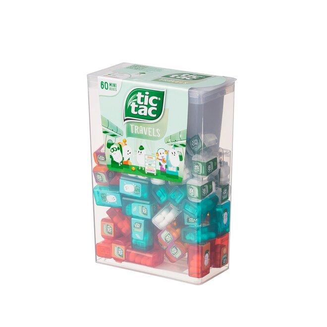 228 g Veľké balenie Tic Tac Mixed (60 malých krabičiek)
