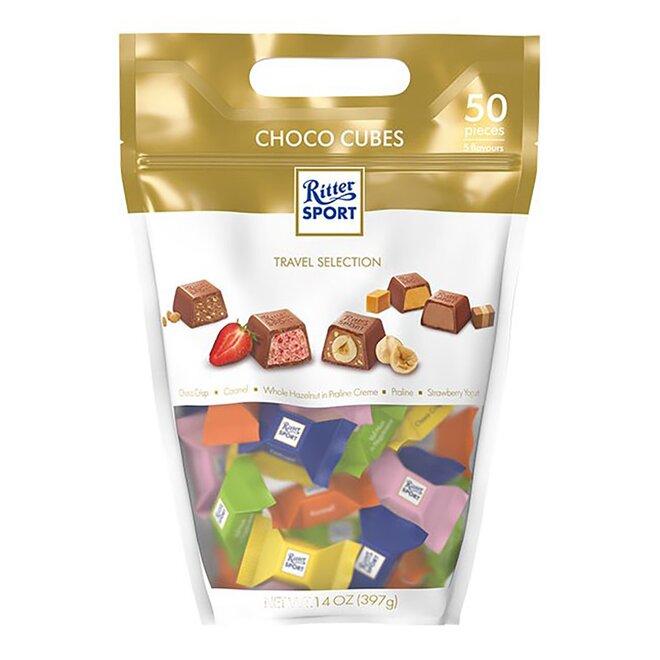 397 g Čokoládové kocky Ritter Choco Cube Pouch
