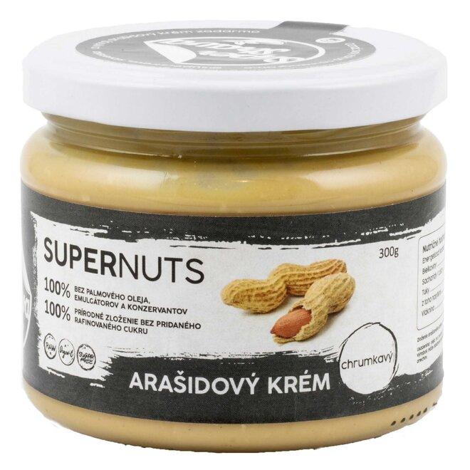 300 g Arašidový krém Supernuts (chrumkavý)