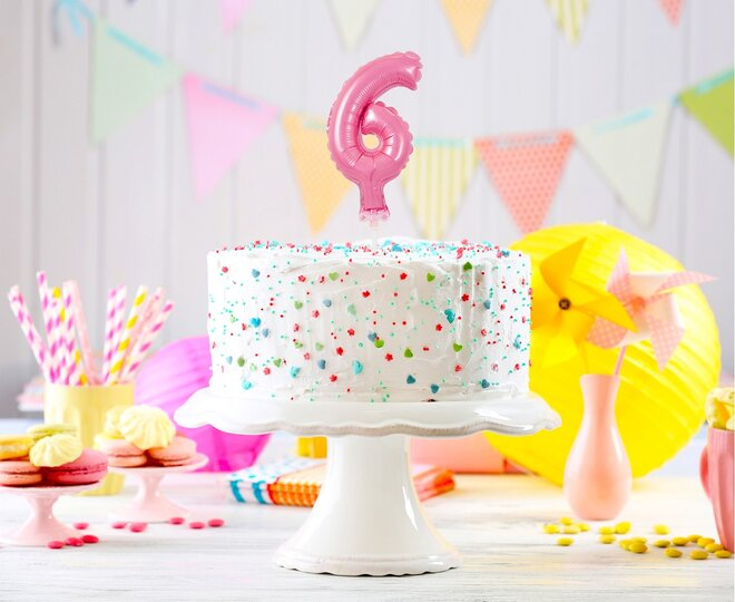 Balón na tortu číslo 6 - Veľkosť 13 cm