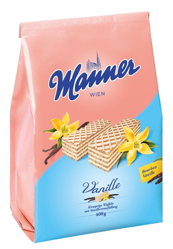 400 g Oblátky Manner (vanilkové)