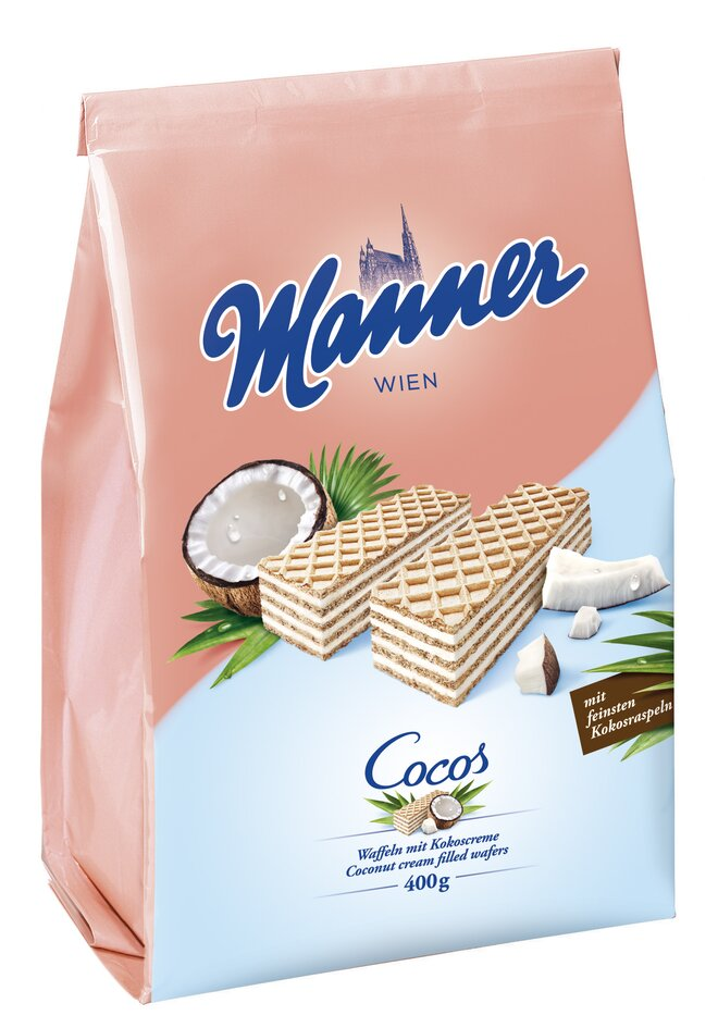 400 g Oblátky Manner (kokosové)