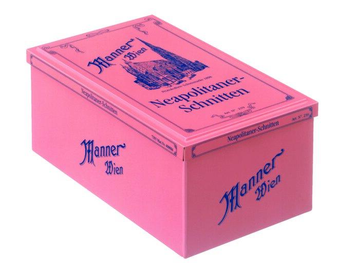 8 x 75 g Retro oblátky Manner Neapolitaner 1898 Retro