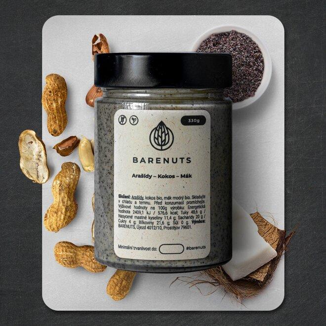 330 g Makový krém (arašidy / kokos / modrý mak)